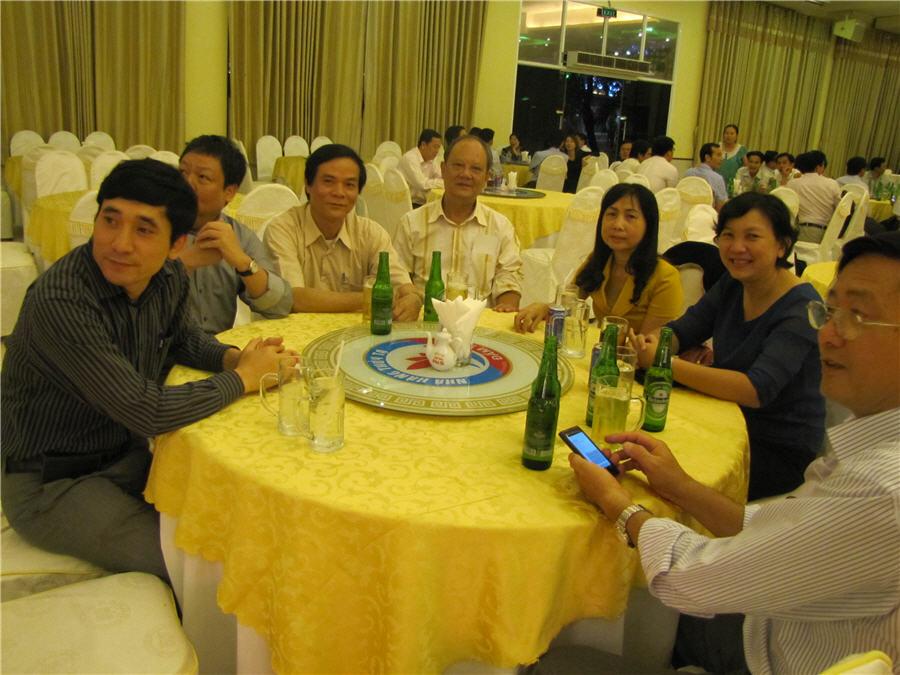 Gala Dinner chào mừng Hội nghị Quốc tế về Chấn thương 2014 được tổ chức tại Công viên Văn hóa Đầm Sen, TP HCM