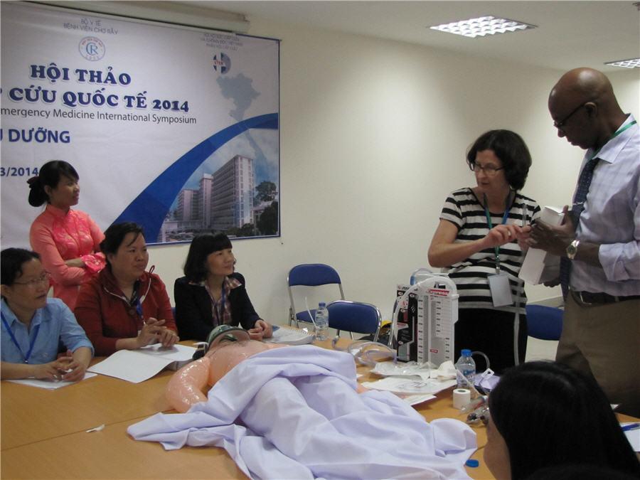 Đào tạo kỹ thuật sơ cấp cứu trong chấn thương dành cho điều dưỡng